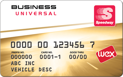 Speedway Business Universal Card